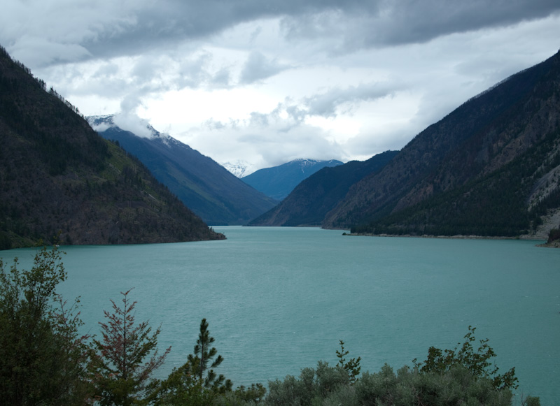 Seton Lake outside Lillooet